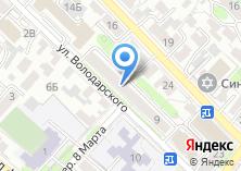 Компания «ОКНАСЕРВИС.РФ» на карте