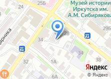 Компания «Холис-Иркутск» на карте