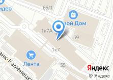 Компания «Строящееся административное здание по ул. Октябрьской Революции» на карте