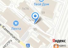Компания «Технокухни» на карте