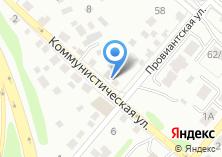 Компания «Близнецы» на карте