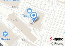 Компания «Иркутскжелдорпроект» на карте