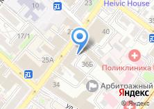 Компания «Пром38» на карте