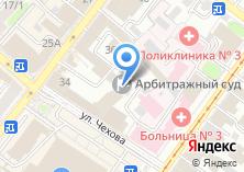 Компания «Общественная палата Иркутской области» на карте