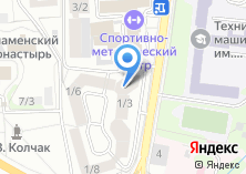 Компания «БензоЭлектроМастер торговый дом» на карте