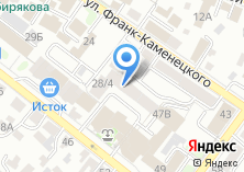 Компания «Здоровый загар» на карте