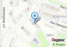 Компания «Автомастерская на Безбокова» на карте
