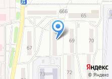 Компания «Континент» на карте