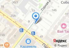 Компания «Автостоянка на Горной» на карте