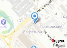 Компания «Багратион» на карте