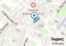 Компания «Главстройпроект» на карте