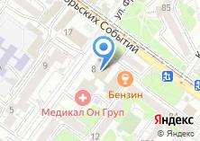Компания «Савина» на карте