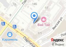 Компания «ИстФорм» на карте