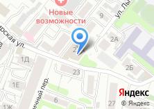 Компания «Строящееся административное здание по ул. Сибирская» на карте
