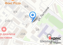 Компания «Ампер» на карте