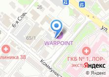 Компания «Фрактал» на карте