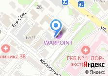 Компания «Градиент» на карте