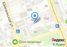 Компания «SOVA» на карте
