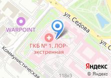 Компания «Астровитал» на карте