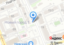 Компания «Домашний отель» на карте