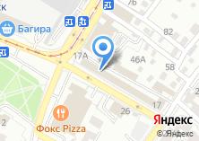 Компания «Сибавтоваз» на карте