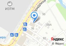 Компания «Авто-сауна» на карте