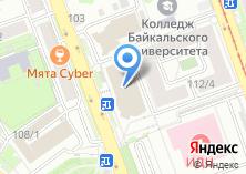 Компания «Банкомат Банк Москвы Иркутский филиал» на карте