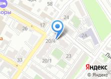 Компания «Иркутскинтерэко» на карте