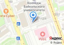 Компания «Байкал-туристик» на карте