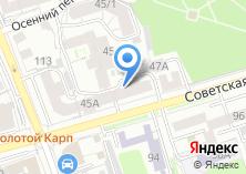 Компания «Авторская студия-ателье Анны Корневой» на карте
