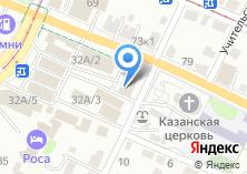 Компания «Пиранья» на карте