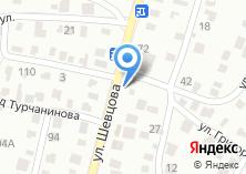 Компания «Шиномонтажная мастерская на ул. Шевцова» на карте