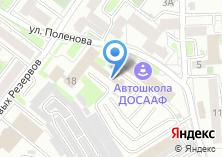Компания «ФорДА-Сибирь» на карте