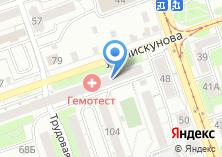 Компания «Деловая Сеть-Иркутск» на карте