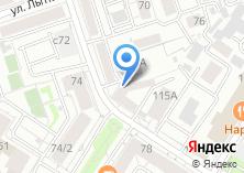 Компания «Линия завода» на карте