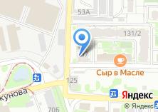 Компания «Визаж» на карте