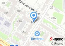 Компания «Запросто» на карте