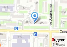 Компания «Ретро» на карте