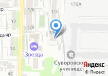 Компания «ЭлитЭкоСистем» на карте