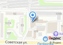 Компания «Облмашинформ» на карте
