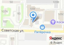Компания «Токат» на карте
