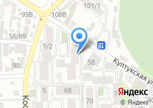 Компания «KIWI» на карте