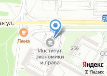 Компания «Восточно-Сибирский институт экономики и права» на карте