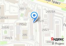 Компания «СибЛесЭкспорт» на карте
