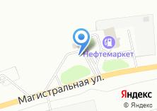 Компания «АЗС Нефтемаркет» на карте