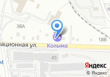 Компания «Колыма» на карте