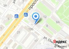 Компания «Мир Окон» на карте