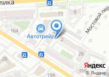 Компания «Инфинити» на карте