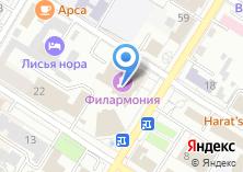 Компания «Забайкальская краевая филармония» на карте