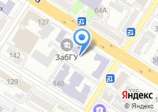 Компания «Забайкальский государственный университет» на карте